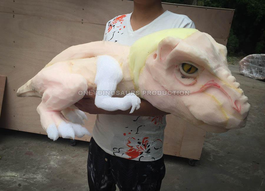 T-Rex Puppet Sculpture Work