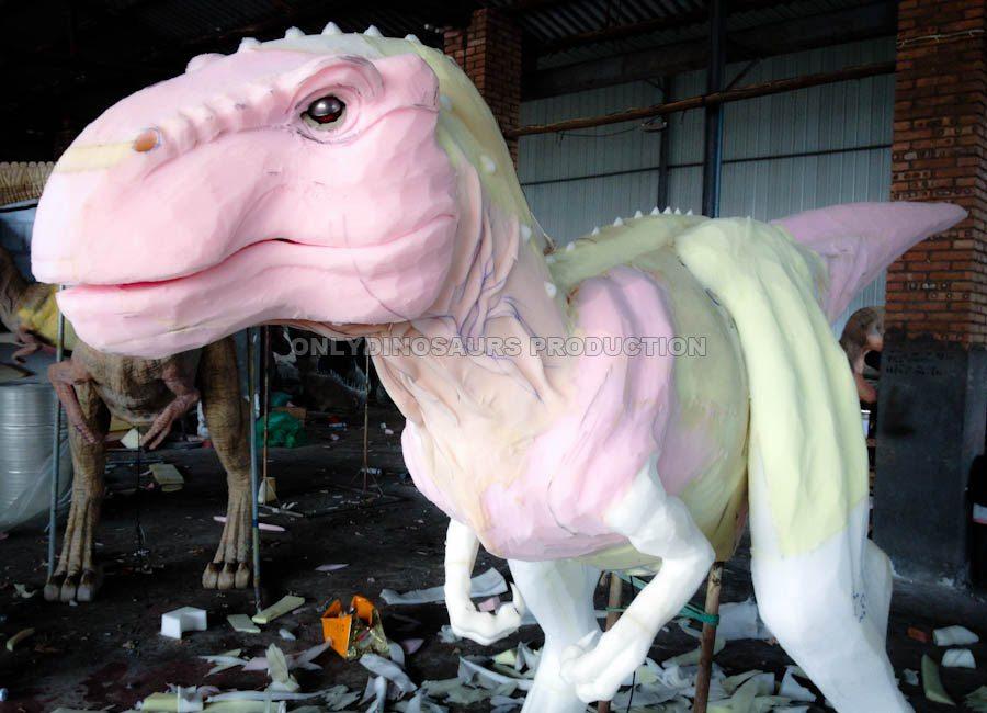 T-Rex Suit Sculpture Work
