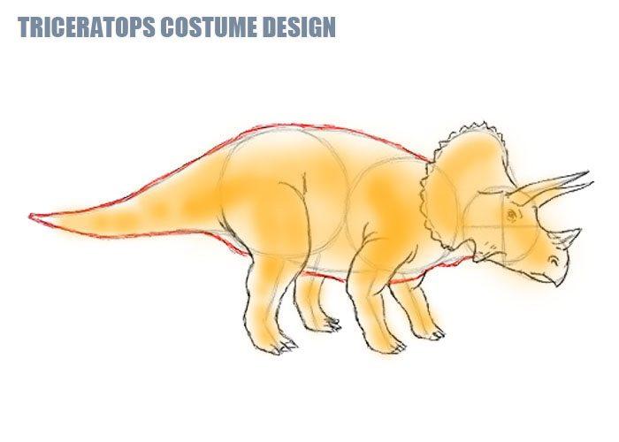 Triceratops-Costumes-Design