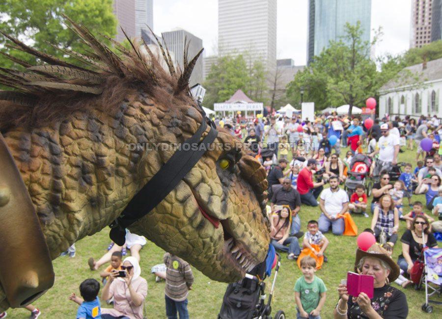 VelociRaptor Costume for Child Festival
