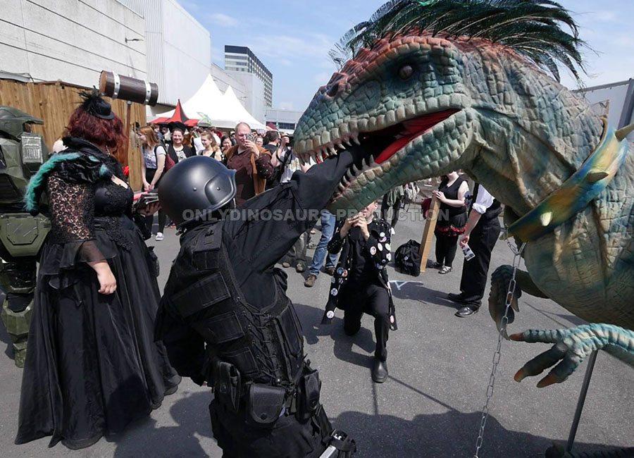 VelociRaptor Costume for Comic Con