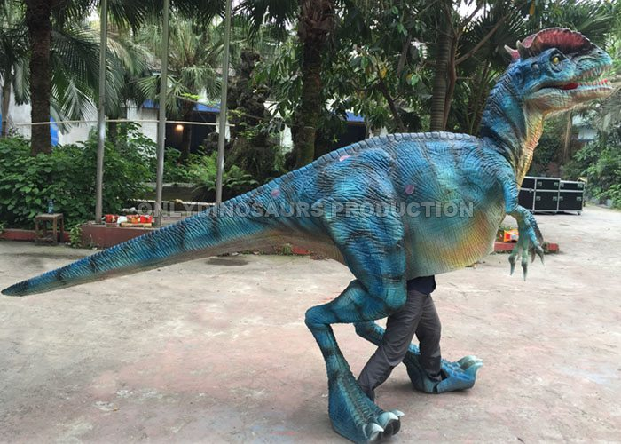 Walking Dilophosaurus Suit