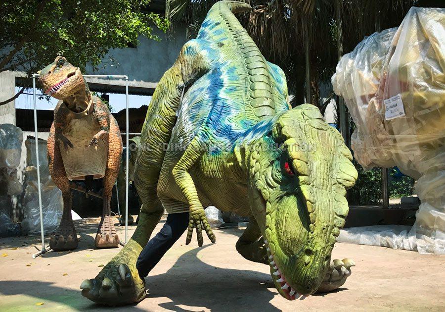 BDC-02 Animatronic Velociraptor Costume