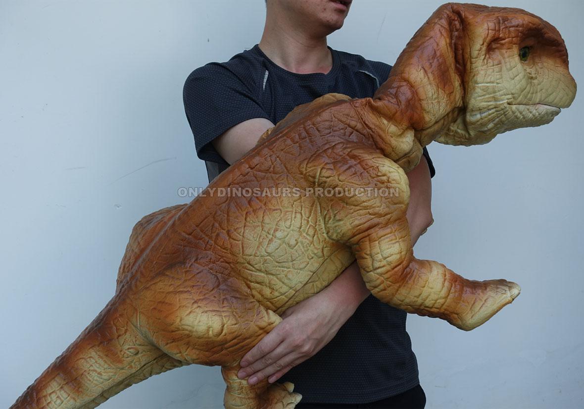 Hand-Operated Brachiosaurus Puppet