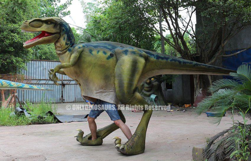 Amused Velociraptor Costume