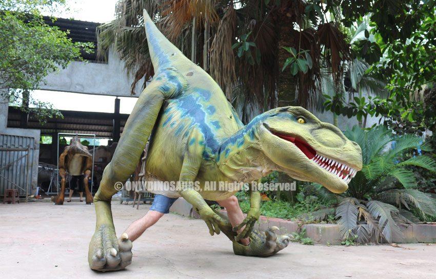 Custom Velociraptor Suit