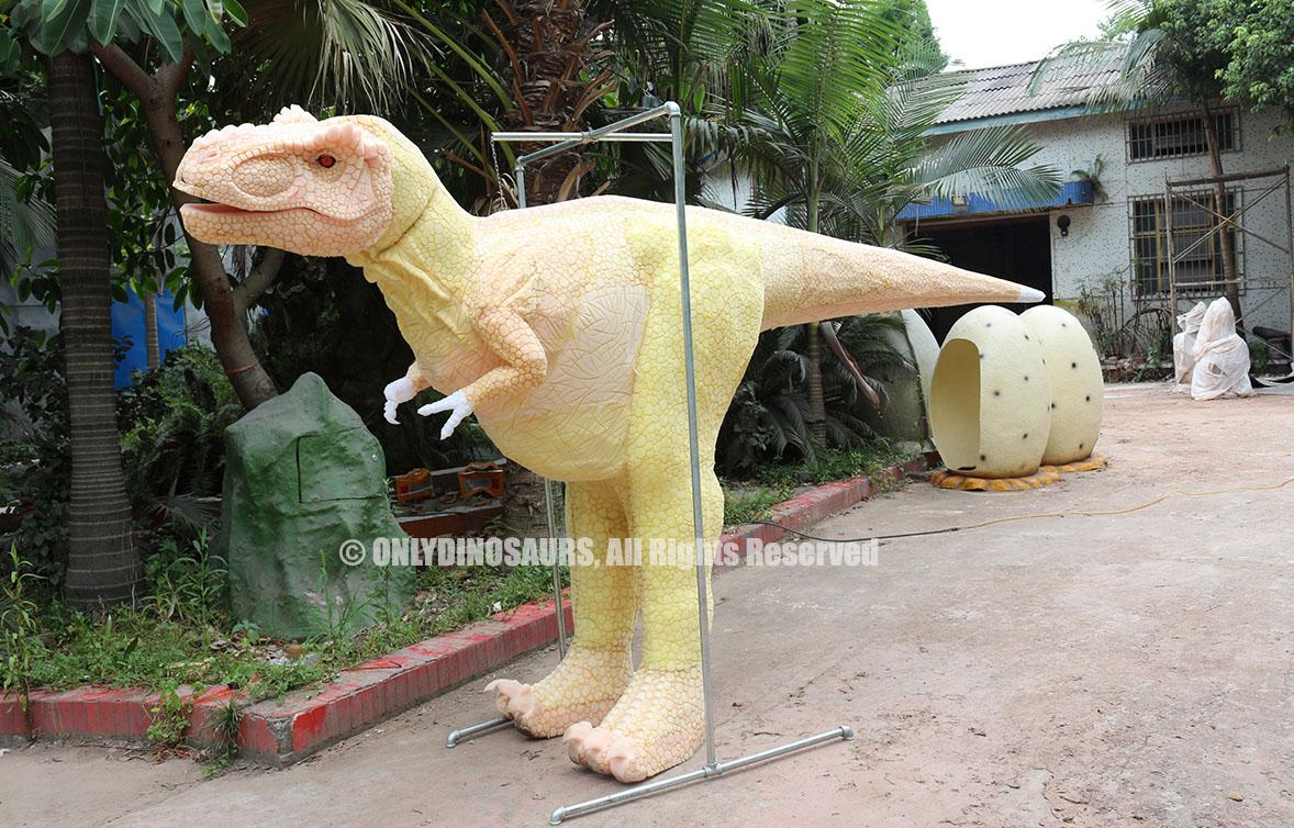 Hidden Legs T-Rex Suit Texture Work