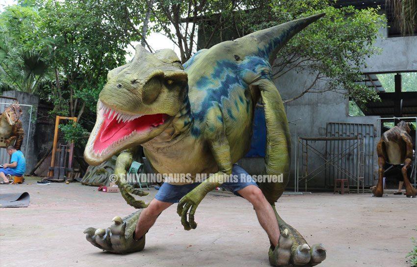 Lighter Raptor Suit