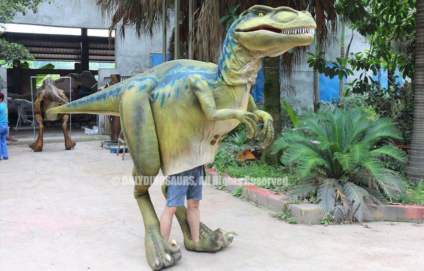Lighter Velociraptor Costume