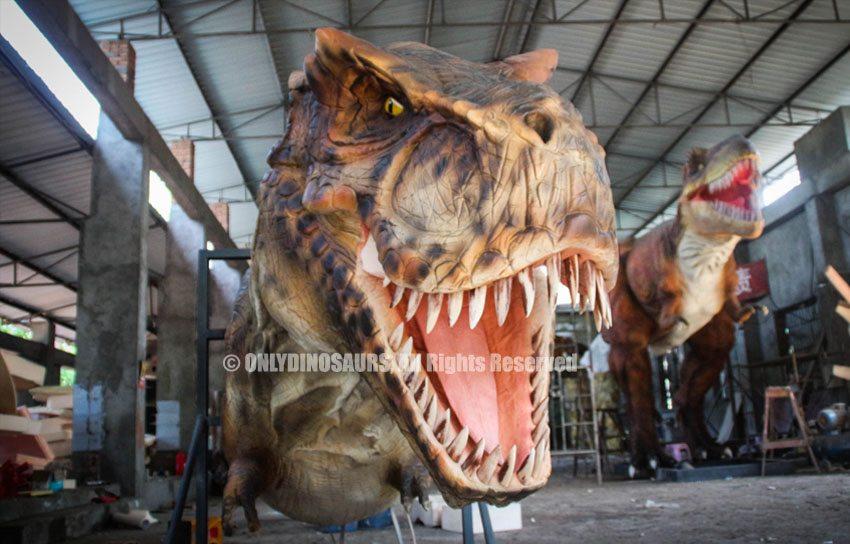 Pneumatic T-Rex Head