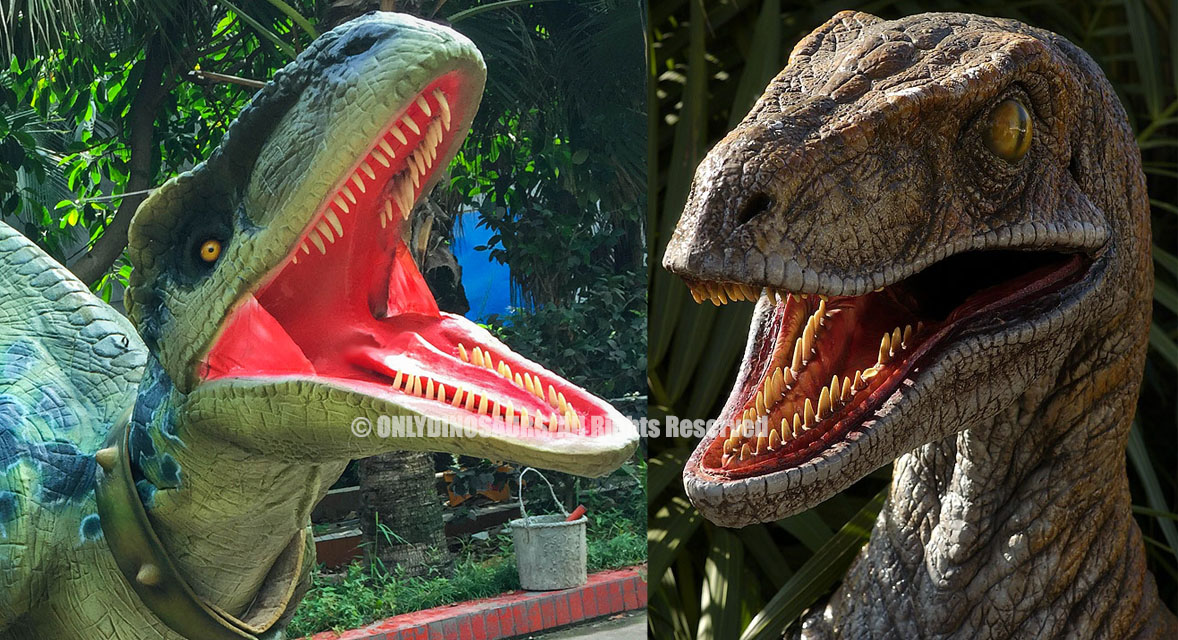 Raptor Suit With New Teeth