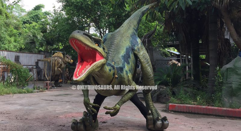 Raptor Suit with Lifelike Teeth
