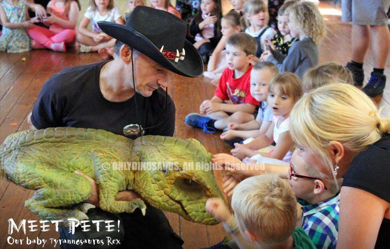 Baby Tyrannosaurus Rex Puppet