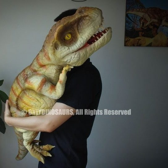 Realistic T-Rex Puppets