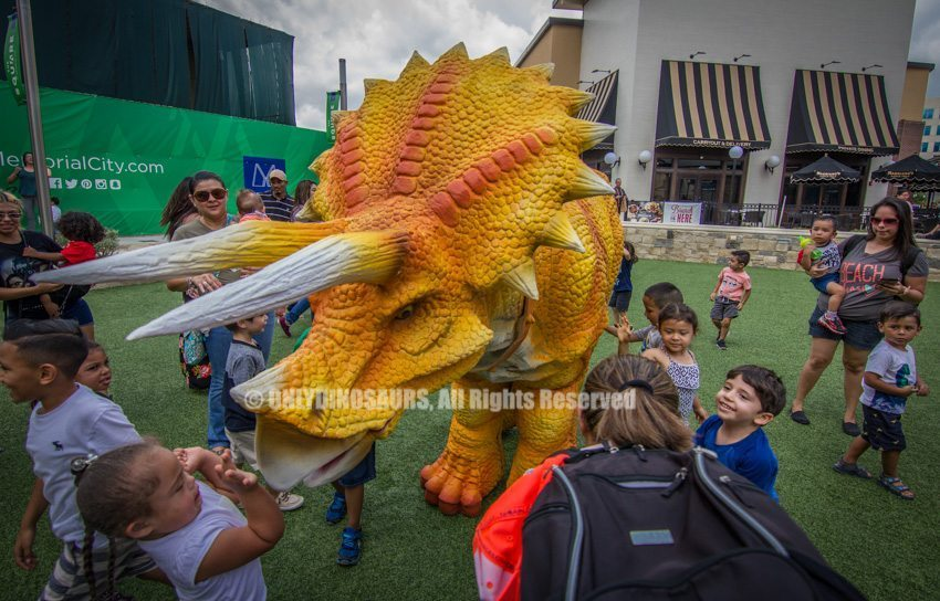 Realistic Triceratops Costume for Sale